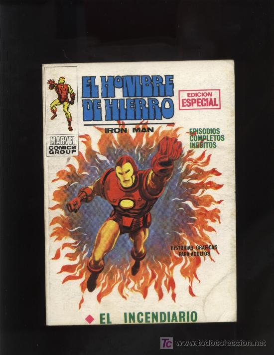 HOMBRE DE HIERRO Nº 11 (Tebeos y Comics - Vértice - Hombre de Hierro)