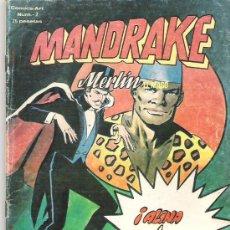 Cómics: MANDRAKE **** MERLIN EL MAGO *** NUM 2 **EDICIONES VERTICE 1980. Lote 7533034