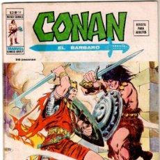 Cómics: CONAN V-2 Nº 19 PRECIOSO, MUY DIFICIL. Lote 17545958