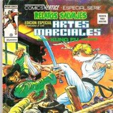Cómics: RELATOS SALVAJES - ARTES MARCIALES - NUM 38 EDICIONES VERTICE 1978. Lote 14902972