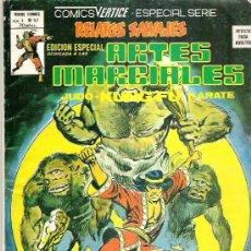 Cómics: RELATOS SALVAJES - ARTES MARCIALES - NUM 52 EDICIONES VERTICE 1978 - ESPECIAL SERIE. Lote 12224923