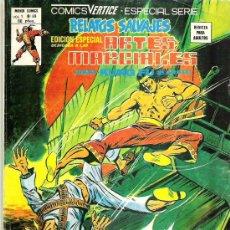 Cómics: RELATOS SALVAJES - ARTES MARCIALES - NUM 49 EDICIONES VERTICE 1979 - ESPECIAL SERIE. Lote 12224924