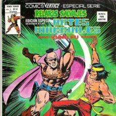 Cómics: RELATOS SALVAJES - ARTES MARCIALES - NUM 50 EDICIONES VERTICE 1978 - ESPECIAL SERIE. Lote 17219548