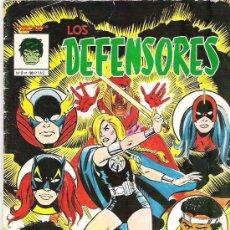 Cómics: LOS DEFENSORES - Nº 2 EDICIONES VERTICE 1981. Lote 7829507