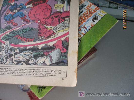 Cómics: CAPITAN AMERICA Nº 6, LINEA SURCO, COLOR - Foto 3 - 26321377