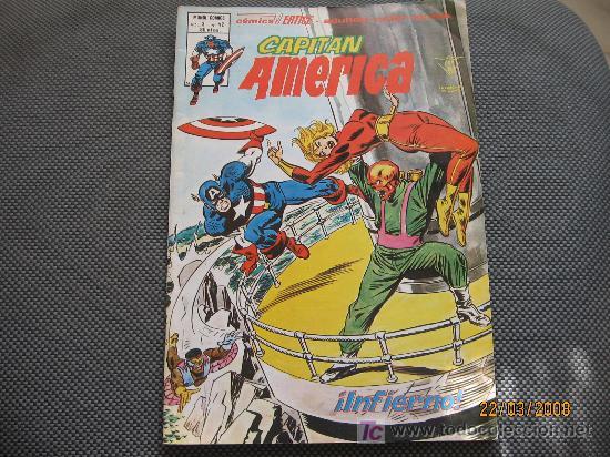 CAPITAN AMERICA - VERTICE - VOL 3 NUMERO 42 (Tebeos y Comics - Vértice - Capitán América)