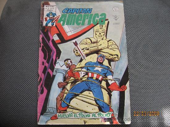 CAPITAN AMERICA - VERTICE - VOL 3 NUMERO 34 (Tebeos y Comics - Vértice - Capitán América)