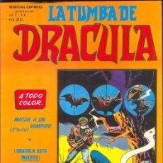 Cómics: LA TUMBA DE DRACULA. VOLUMEN 2, NUMERO 6. Lote 26922168