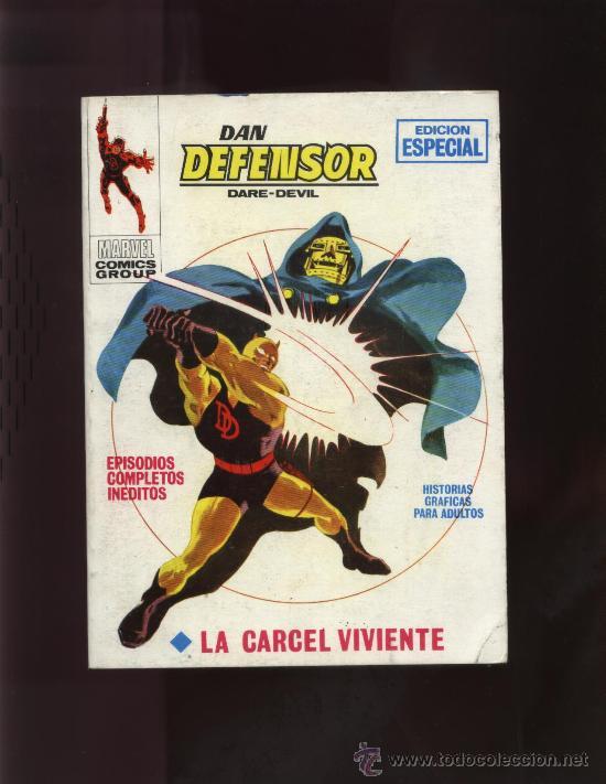 DAN DEFENSOR Nº 15 (Tebeos y Comics - Vértice - Dan Defensor)