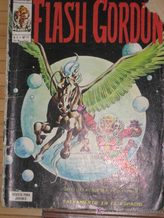 SALVAMENTO EN EL ESPACIO(1965). FLASH GORDON. ACEDEMIA EN EL ESPACIO. V1 Nº 12 (Tebeos y Comics - Vértice - Flash Gordon)