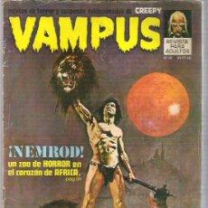 Cómics: VAMPUS - NEMROD - UN ZOO EN EL CORAZON DE AFRICA *** Nº 32 1971. Lote 11781441