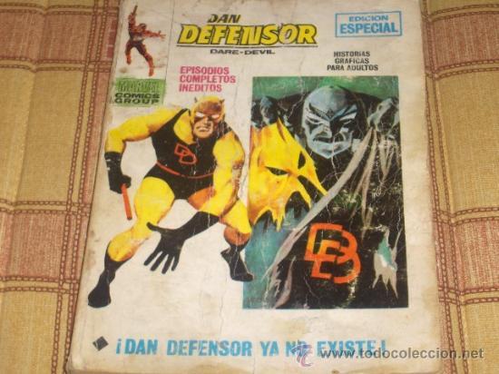 VÉRTICE VOL. 1 DAN DEFENSOR Nº 19. 1971. 25 PTS. (Tebeos y Comics - Vértice - Dan Defensor)
