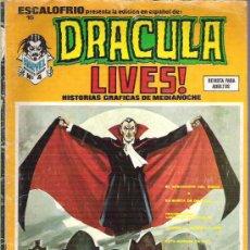 Cómics: DRACULA LIVES ! - HISTORIAS GRAFICAS DE MEDIANOCHE *** NUM 4 **1974 ESCALOFRIO 15. Lote 14247338