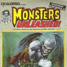 Cómics: MONSTERS UNLEASHED ! NUM 1 EDICIONES VERTICE 1973. Lote 18208659