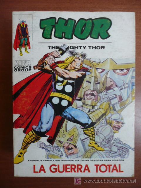 THOR. VOL 1. Nº 27. VÉRTICE. 25 PTAS. (Tebeos y Comics - Vértice - Thor)