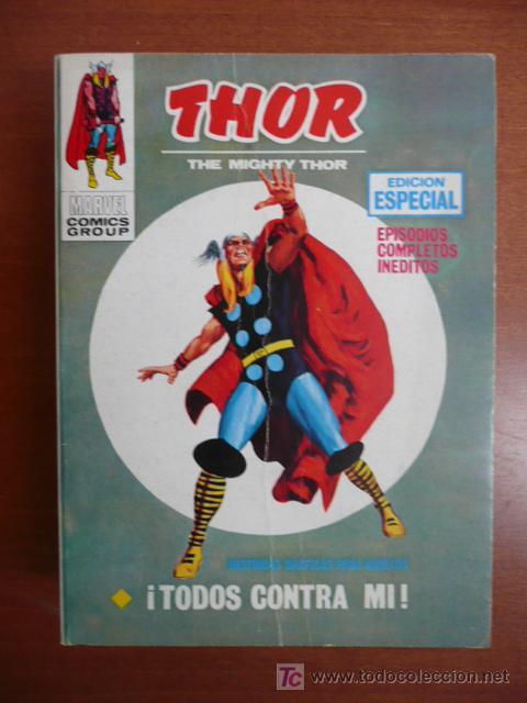 THOR. VOL 1. Nº 12. VÉRTICE. 25 PTAS. (Tebeos y Comics - Vértice - Thor)