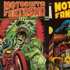 Fumetti: MOTORISTA FANTASMA NºS 1 Y 2: EL FUROR DE MANITÚ/ EL JINETE NOCTURNO (BARCELONA, 1981) COL. MUNDICOM. Lote 23183107