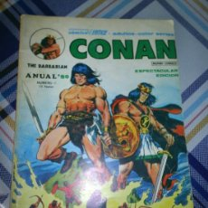 Cómics: M69 CONAN THE BARBARIAN ANUAL 80 NUMERO 1 MUNDI COMIC VERTICE. Lote 9116927