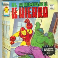 Cómics: VÉRTICE VOL. 2 EL HOMBRE DE HIERRO EDICIÓN ESPECIAL 1977. 50 PTS. DIFÍCIL!!!!!. Lote 11773750
