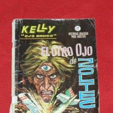 Cómics: KELLY OJO MAGICO EL OTRO OJO DE ZOLTEC Nº 8 DE GRAPA AÑO 1965, EDICIONES VERTICE . Lote 26357437