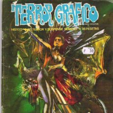 Cómics: TERROR GRAFICO - ESTEBAN MAROTO *** NUM 9 EDICIONES VERTICE 1972. Lote 11461650