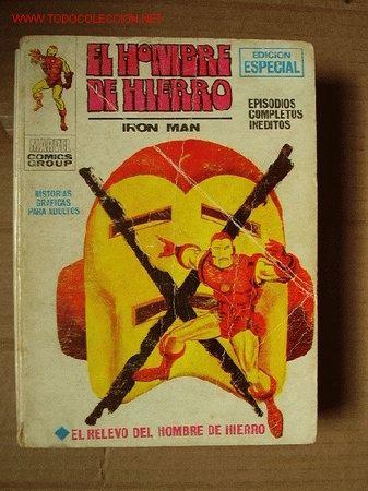 EL HOMBRE DE HIERRO. Nº 9. VÉRTICE (Tebeos y Comics - Vértice - Hombre de Hierro)