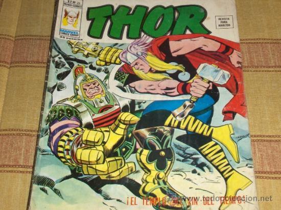VÉRTICE VOL. 2 THOR Nº 26. 35 PTS. 1976. (Tebeos y Comics - Vértice - Thor)