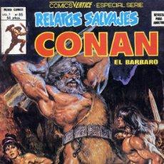 Cómics: CONAN (RELATOS SALVAJES. VOL.1- Nº66) EDIT. VÉRTICE . Lote 9771218