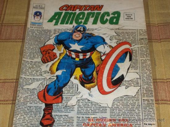 VÉRTICE VOL. 3 CAPITÁN AMÉRICA Nº 5. 35 PTS. 1976. (Tebeos y Comics - Vértice - Capitán América)