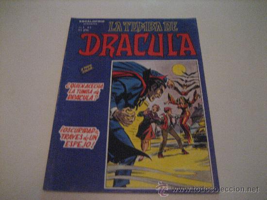 LA TUMBA DE DRACULA-VOL.2-Nº2-VERTICE (Tebeos y Comics - Vértice - Terror)