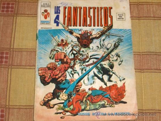 VÉRTICE VOL. 2 LOS 4 FANTÁSTICOS Nº 21. 1976. 35 PTS. (Tebeos y Comics - Vértice - 4 Fantásticos)