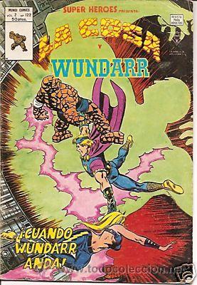 SUPER HEROES VERTICE V2 Nº 122 LA COSA Y WUNDARR (Tebeos y Comics - Vértice - Super Héroes)