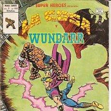Cómics: SUPER HEROES VERTICE V2 Nº 122 LA COSA Y WUNDARR. Lote 18218311