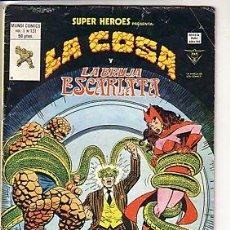 Cómics: SUPER HEROES VERTICE V2 Nº 131 LA COSA Y BRUJA ESCARLATA. Lote 18218312