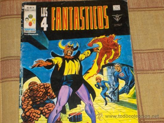 VÉRTICE VOL. 3 LOS 4 FANTÁSTICOS Nº 16. 1978. 40 PTS. (Tebeos y Comics - Vértice - 4 Fantásticos)