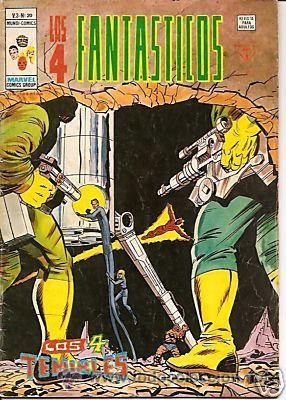 LOS 4 FANTASTICOS VERTICE V3 Nº 20 (Tebeos y Comics - Vértice - 4 Fantásticos)