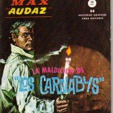 Cómics: MAX AUDAX FORMATO GRAPA EDITORIAL VERTICE Nº 12. Lote 10568612