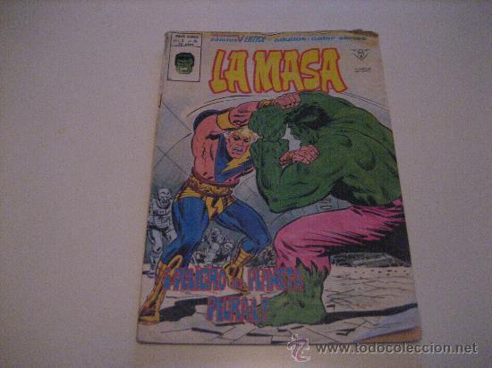 LA MASA - HULK - VOL.3 Nº38 - VERTICE (Tebeos y Comics - Vértice - La Masa)
