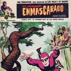 Cómics: EL HOMBRE ENMASCARADO - Nº20 EPIDEMIA EN LA JUNGLA - EDICIONES VERTICE (1974). Lote 25739669