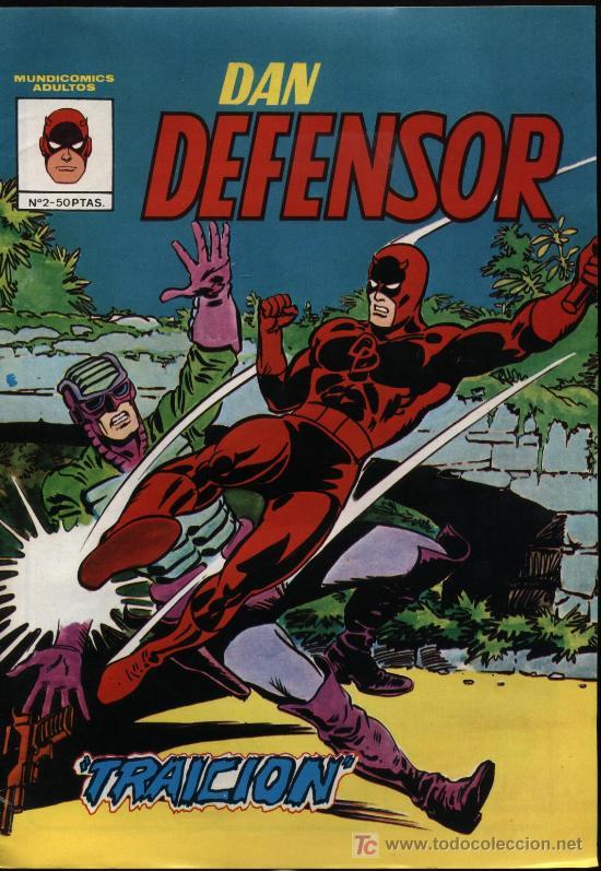 DAN DEFENSOR Nº 2 (Tebeos y Comics - Vértice - Dan Defensor)
