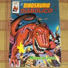 Comics: VÉRTICE MUNDI COMICS VOL. 1 EL DINOSAURIO DIABÓLICO Nº 1. 1980. 50 PTS.. Lote 12078818