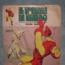 Cómics: EL HOMBRE DE HIERRO EPISODIO COMPLETO Nº32 AÑO 1973.LE FALTA LA HOJA 111 Y 112. . Lote 10774403