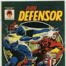 Comics: DAN DEFENSOR Nº 4 - VERTICE.. Lote 27414688