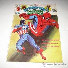 Cómics: SUPERHEROES - Nº5 - SPIDERMAN Y EL CAPITAN AMERICA. Lote 27438251