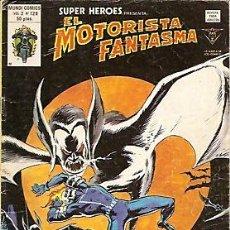 Cómics: SUPER HEROES VERTICE V2 Nº 129 EL MOTORISTA FANTASMA. Lote 18408992