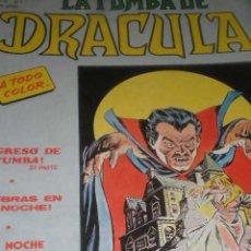 Cómics: ESCALOFRIO PRESENTA VOL.2 Nº7 , LA TUMBA DE DRACULA. Lote 23901992
