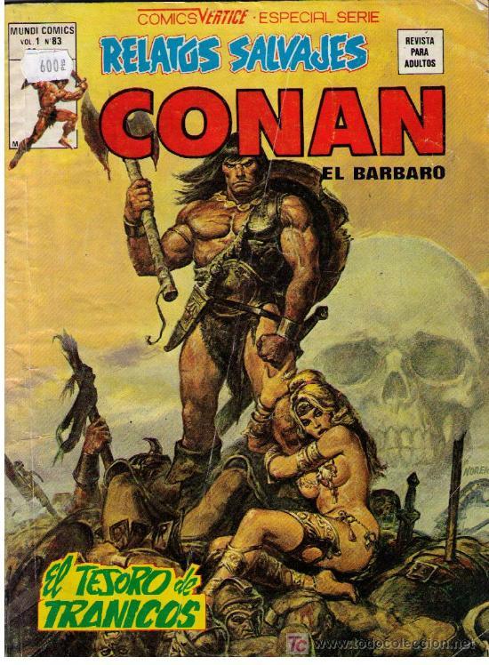 CONAN VOL. 1 Nº 83 (Tebeos y Comics - Vértice - Conan)