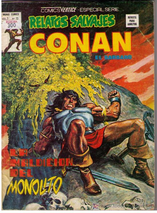 CONAN VOL. 1 Nº 73 (Tebeos y Comics - Vértice - Conan)