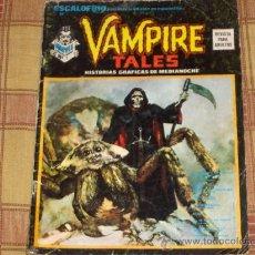 Cómics: VÉRTICE ESCALOFRÍO Nº 10. VAMPIRE TALES Nº 2. 30 PTS. 1974.. Lote 44188605