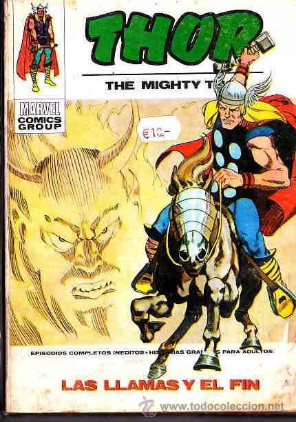 COMIC EDICIONES VERTICE VOL.1 (TACO) THOR Nº 34 (Tebeos y Comics - Vértice - Thor)